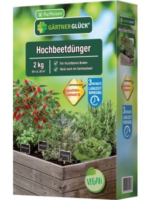 Hochbeetdünger 2kg Gärtnerglück Raiffeisen