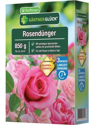 Raiffeisen Rosendünger Gärtnerglück 850g Faltschachtel