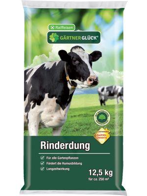 Raiffeisen Gärtnerglück Rinderdung Dünger organisch 12,5kg