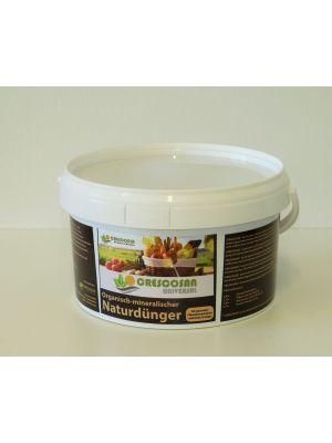 Naturdünger Pellets Crescosan 2kg Eimer - 1