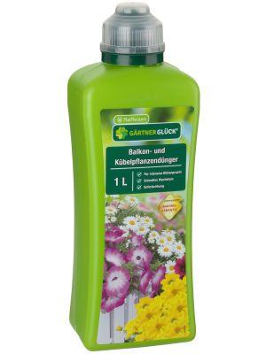 Balkon- und Kübelpflanzendünger 1 Liter Gärtnerglück