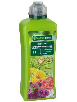 Gärtnerglück Raiffeisen Blüh- und Grünpflanzendünger 1l
