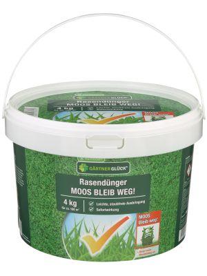 Raiffeisen Rasendünger Moos bleib weg 4kg