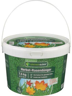 Raiffeisen Gärtnerglück Herbst-Rasendünger 7,5kg