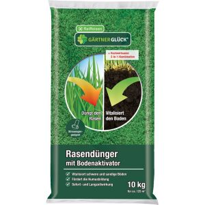 Rasendünger Bodenaktivator 10kg Folie