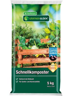 Raiffeisen Gärtnerglück Schnellkomposter 5kg
